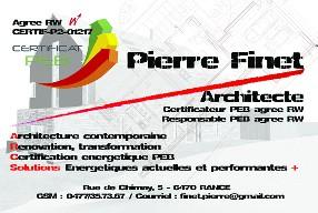 logo PF-Arch, Atelier d'Architecture