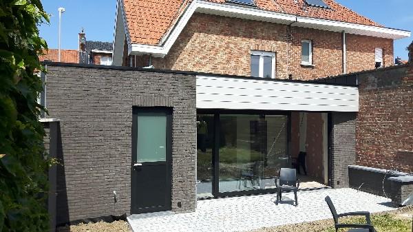 Transformation extension d'une habitation - Mouscron